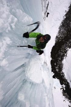 escalade glaciere